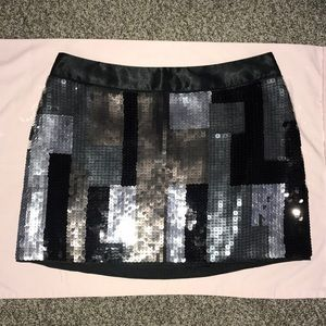 Ladies sequin skirt